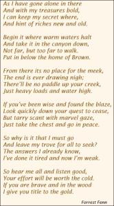 forrest finn poem